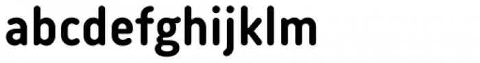 Korb Bold Font LOWERCASE