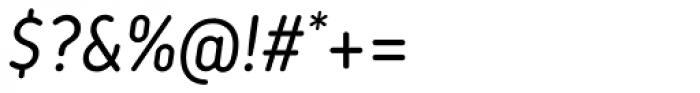 Korb Italic Font OTHER CHARS
