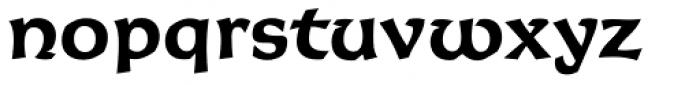 Korigan Std Bold Font LOWERCASE