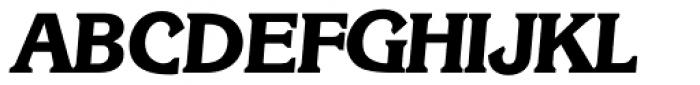 Korinth Serial ExtraBold Italic Font UPPERCASE