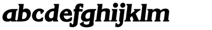 Korinth Serial ExtraBold Italic Font LOWERCASE