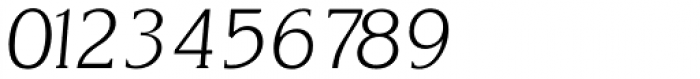 Korinth Serial ExtraLight Italic Font OTHER CHARS