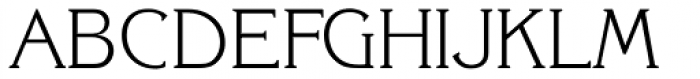 Korinth Serial ExtraLight Font UPPERCASE