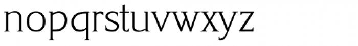 Korinth Serial ExtraLight Font LOWERCASE