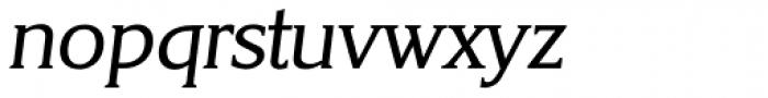 Korinth Serial Italic Font LOWERCASE