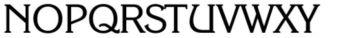 Korinth Serial Font UPPERCASE