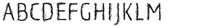 Korn Demi Bold Font UPPERCASE