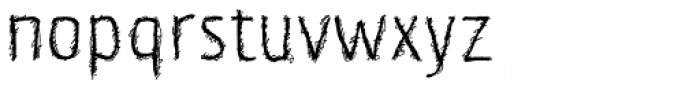 Korn Demi Bold Font LOWERCASE