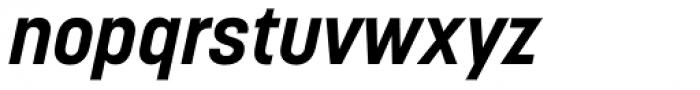 Korolev Alternates Bold Italic Font LOWERCASE