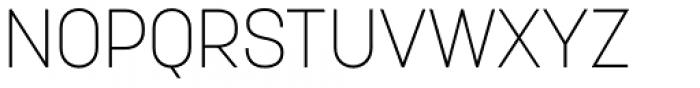 Korolev Alternates Extra Light Font UPPERCASE
