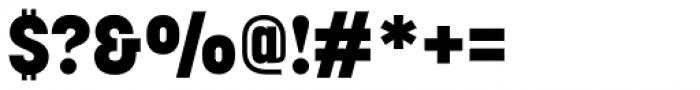 Korolev Alternates Heavy Font OTHER CHARS