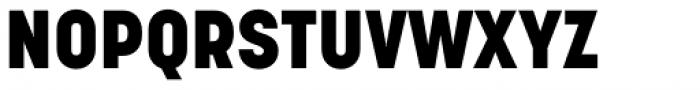 Korolev Alternates Heavy Font UPPERCASE