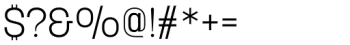 Korolev Alternates Light Font OTHER CHARS