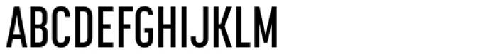 Korolev Compressed Alternates DemiBold Font UPPERCASE