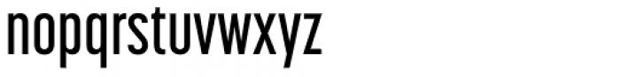Korolev Compressed Alternates DemiBold Font LOWERCASE