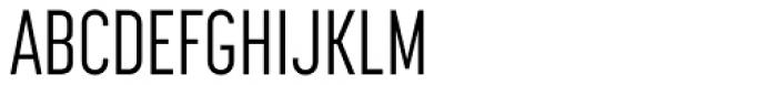 Korolev Compressed Alternates Regular Font UPPERCASE
