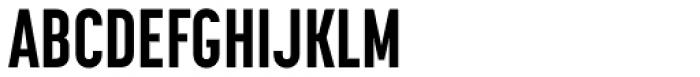 Korolev Compressed ExtraBold Font UPPERCASE