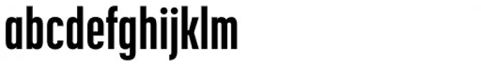 Korolev Compressed ExtraBold Font LOWERCASE
