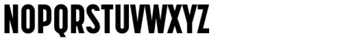 Korolev Compressed Heavy Font UPPERCASE