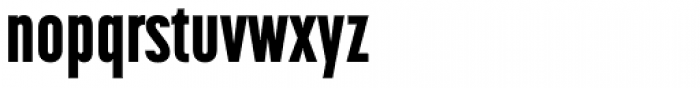 Korolev Compressed Heavy Font LOWERCASE