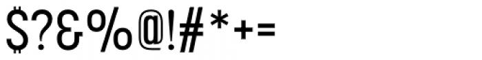 Korolev Condensed Alternates Medium Font OTHER CHARS