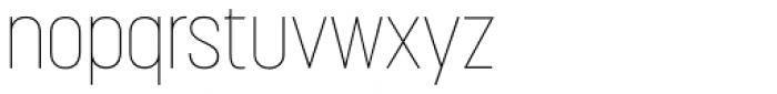 Korolev Condensed Alternates Thin Font LOWERCASE