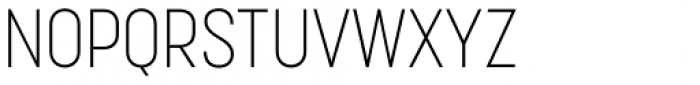 Korolev Condensed ExtraLight Font UPPERCASE