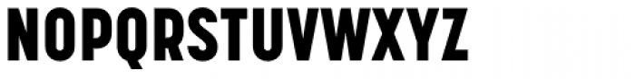 Korolev Condensed Heavy Font UPPERCASE