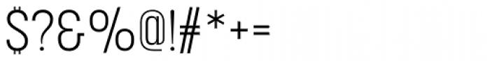 Korolev Condensed Light Font OTHER CHARS