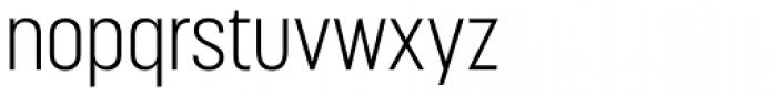 Korolev Condensed Light Font LOWERCASE