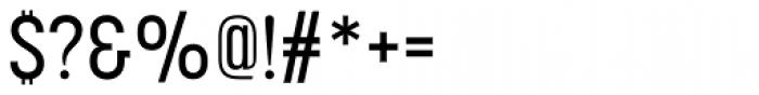 Korolev Condensed Medium Font OTHER CHARS