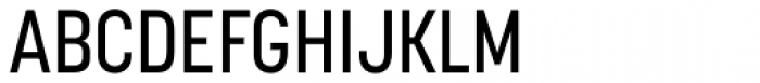 Korolev Condensed Medium Font UPPERCASE