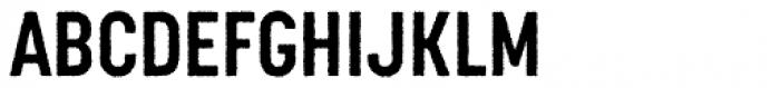 Korolev Rough Condensed Bold Font UPPERCASE