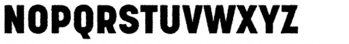 Korolev Rough Heavy Font UPPERCASE