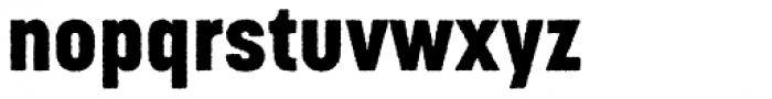 Korolev Rough Heavy Font LOWERCASE
