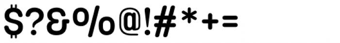 Korolev Rounded Alternates DemiBold Font OTHER CHARS