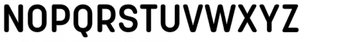 Korolev Rounded Alternates DemiBold Font UPPERCASE