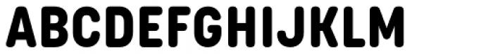 Korolev Rounded Alternates ExtraBold Font UPPERCASE