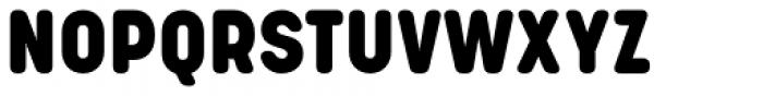 Korolev Rounded Alternates Heavy Font UPPERCASE