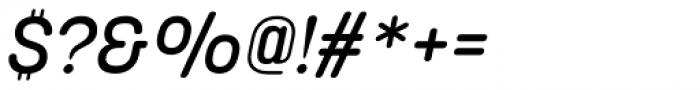 Korolev Rounded Alternates Medium Italic Font OTHER CHARS