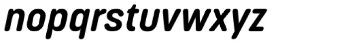 Korolev Rounded Bold Italic Font LOWERCASE