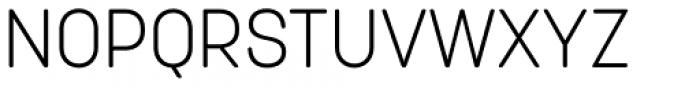 Korolev Rounded Light Font UPPERCASE