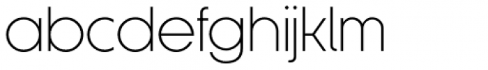 Korto Light Font LOWERCASE