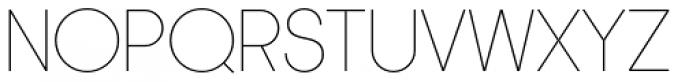 Korto Thin Font UPPERCASE
