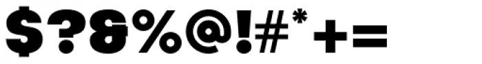 Korto Ultra Font OTHER CHARS