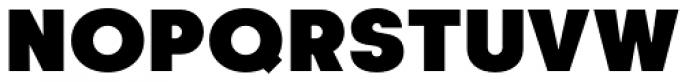 Korto Ultra Font UPPERCASE