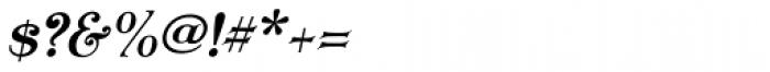 Koster Plain Caps Oblique Font OTHER CHARS