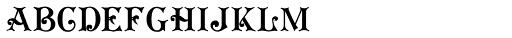Koster Plain Caps Font LOWERCASE