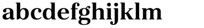 Kostic Serif Bold Font LOWERCASE