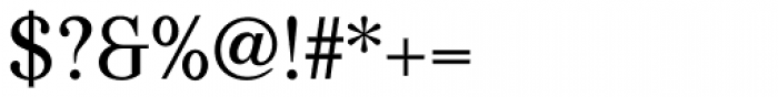 Kostic Serif Font OTHER CHARS